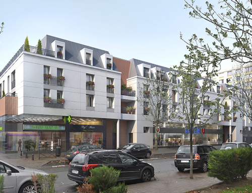 CREATION D'UN SUPERMARCHE SUPER U + Logements