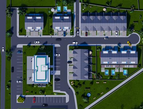 Bâtiment de logement collectif