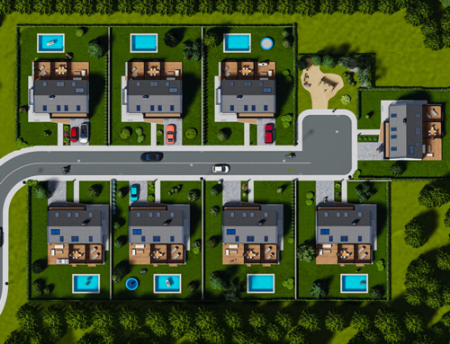 Projet de 8 maisons individuelles